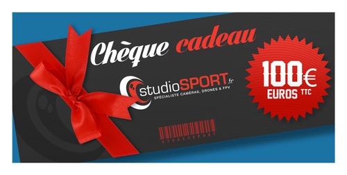 Chèque cadeau studioSPORT 100 €