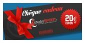 Chèque cadeau studioSPORT 20 €