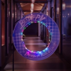 Circles Gates pour TinyWhoop avec LED - BetaFPV