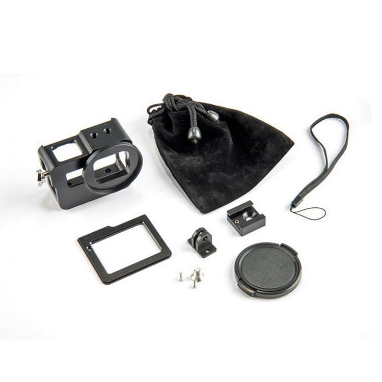 Contenu du caisson métal couleur noir pour GoPro Hero5 Black