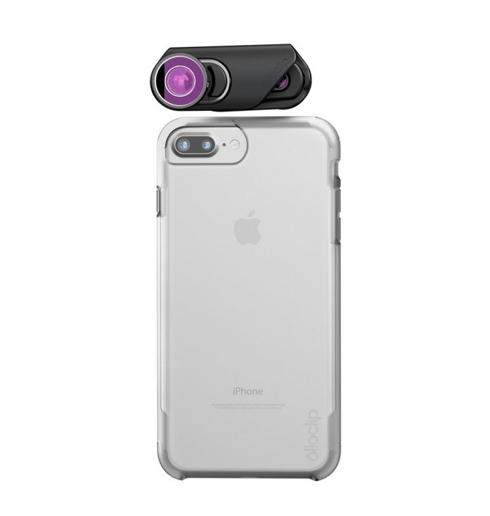 Core Lens & Ollo Case pour iPhone 7 & 7 Plus - vue de face