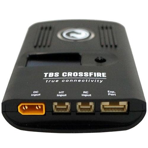 Les connections du Crossfire TX Team BlackSheep