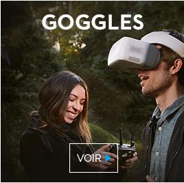 Découvrez les DJI Goggles