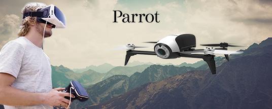 Découvrez les drones Parrot