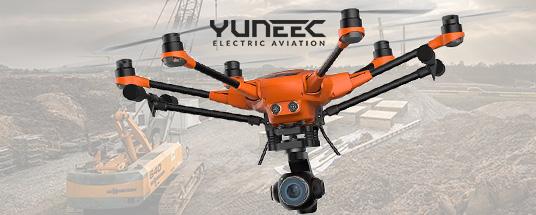 Découvrez les drones YUNEEC