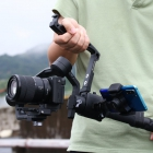 DH12 Handy Sling Grip for DJI Ronin SC designed for low angle shots maxium load 5kg multiple 1/4 & 3/8 screw holes cold shoe mou