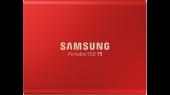 Disque SSD externe T5 500Go Rouge - Samsung