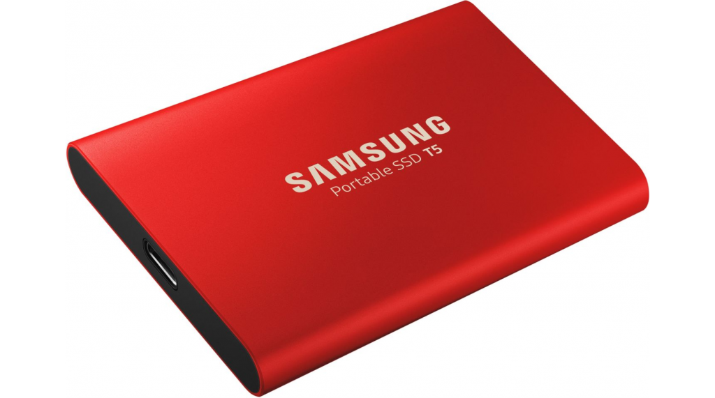 Disque SSD externe T5 500Go Rouge - Samsung