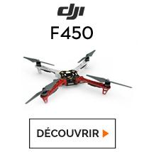 Découvrez le quadricoptère F450 chez studioSPORT