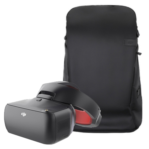 DJI Goggles Racing Edition et sac à dos Carry More