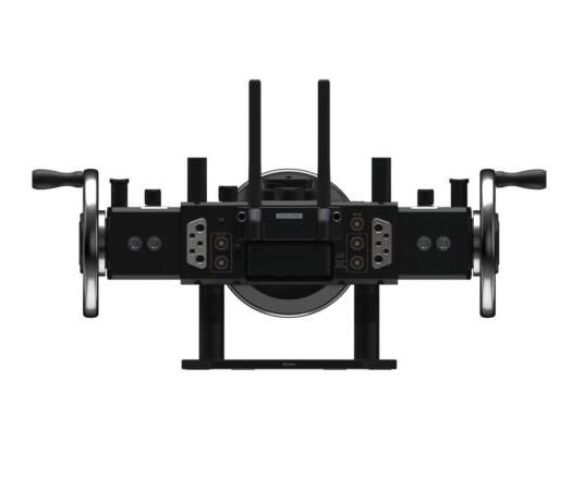 DJI Master Wheels - Manivelles pour DJI Ronin 2 et Ronin-S - vue de façade
