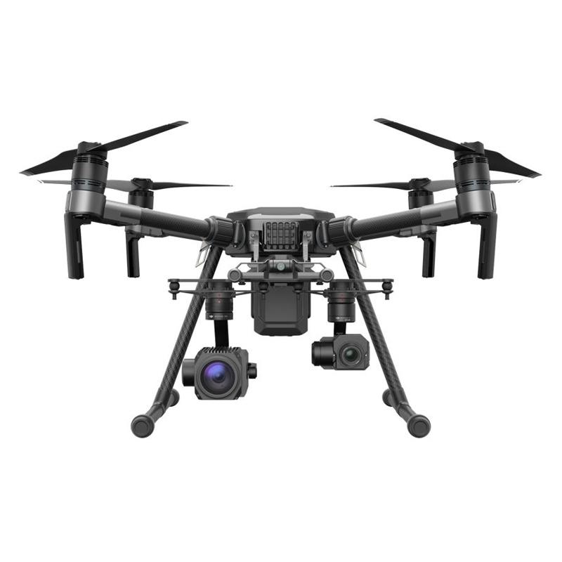 Multirotor DJI Matrice 210 en configuration double caméras Zenmuse XT et Z30