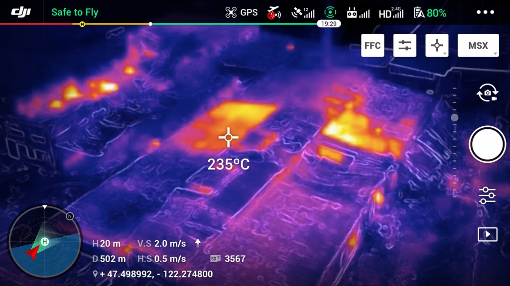 DJI Mavic 2 Enterprise Dual (thermal) et Smart Controller