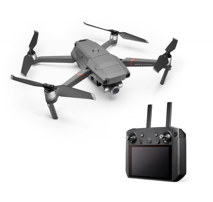 DJI Mavic 2 Enterprise et Smart Controller