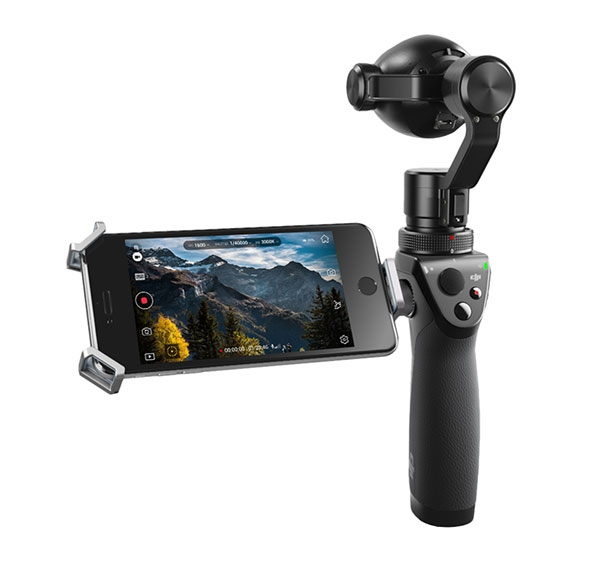 DJI Osmo+ avec caméra X3 Zoom avec retour vidéo sur smartphone