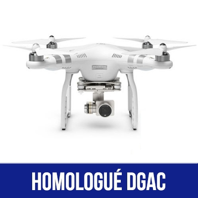 DJI Phantom 3 Advanced homologué S1, S2 & S3