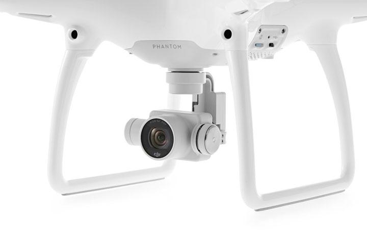 DJI Phantom 4 avec caméra 4K et nacelles 3 axes