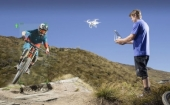 DJI Phantom 4 et sa fonction Visual Tracking