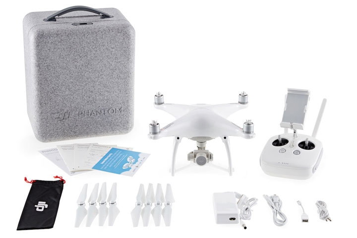 DJI Phantom 4 avec son packaging complet