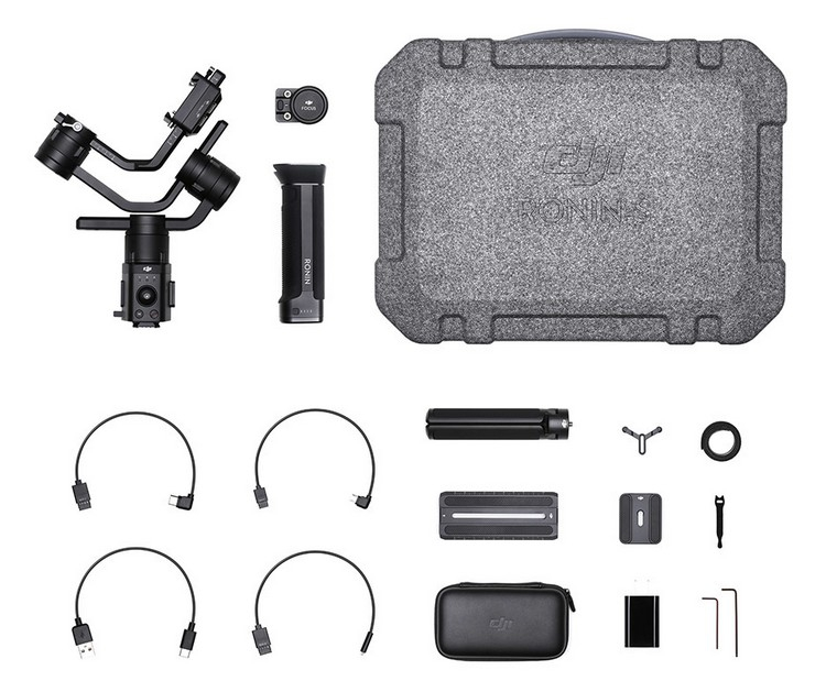 Packaging du stabilisateur DJI Ronin-S