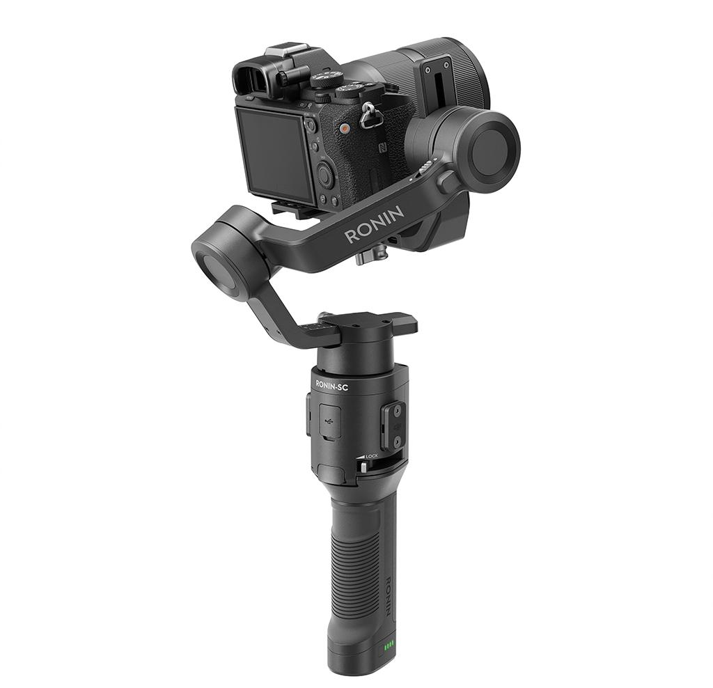 DJI Ronin-SC avec appareil photo