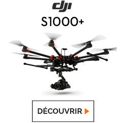 Découvrez l'octocoptère S1000+ chez studioSPORT