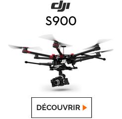Découvrez l'hexacoptère DJI S900 chez studioSPORT