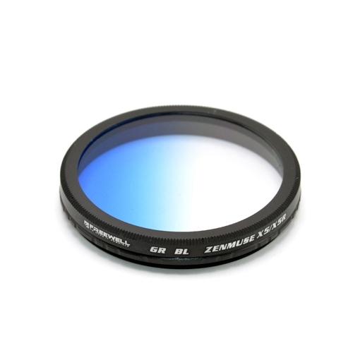 Ce filtre gradué bleu pourDJI Zenmuse X5 & X5R vous donnera un ciel au bleu plus marqué et au rendu très réaliste.