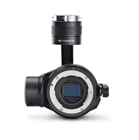 Nacelle et caméra DJI Zenmuse X5S sans objectif pour Inspire 2 - vue de face
