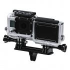 Double fixation pour GoPro