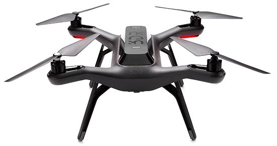 Drone 3DRobotics Solo sans nacelle homologué DGAC S1 & S3