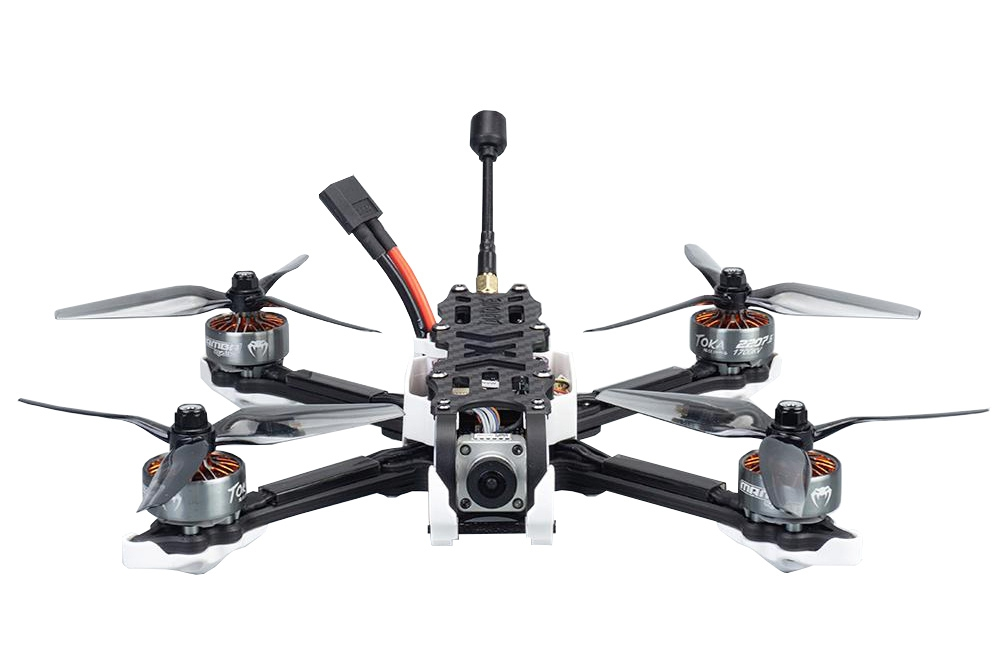 Drone freestyle Roma F5 et Caddx Vista PNP - Diatone