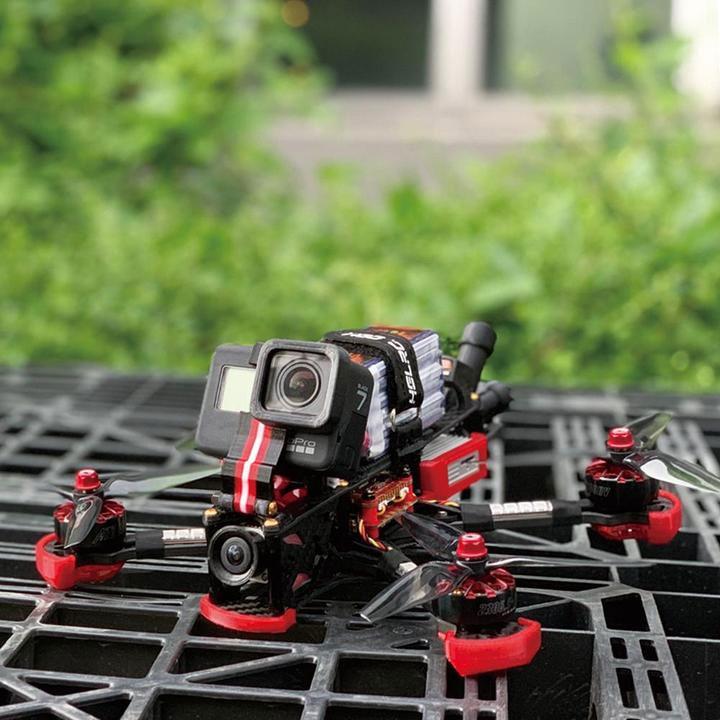 Drone freestyle Sector 5 V3 HD avec DJI FPV Air Unit PNP - HGLRC