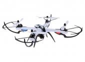 Drone H16-5D JJRC noir - vue de côté