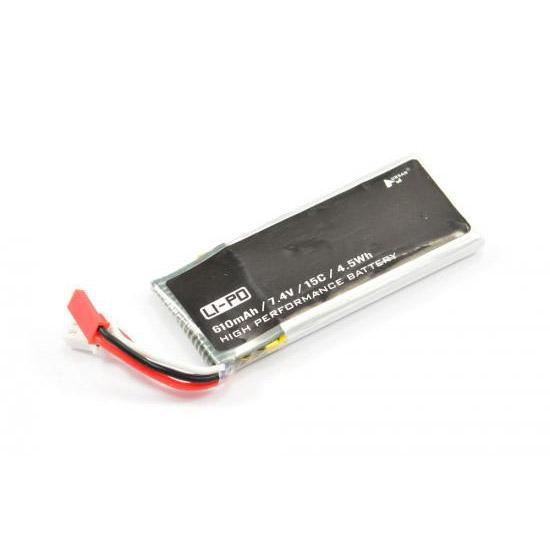 Batterie Lipo 2S 610 mAh 15C Hubsan H502S