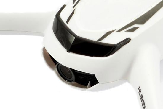 Zoom sur la caméra du drone Hubsan H502S