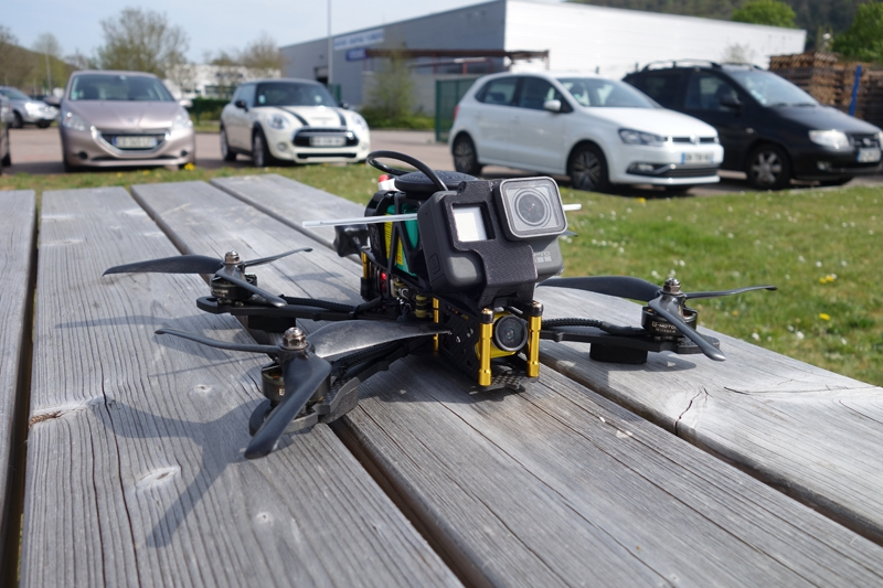 Drone Racer Pro S1 & S3 Corsair - studioSPORT