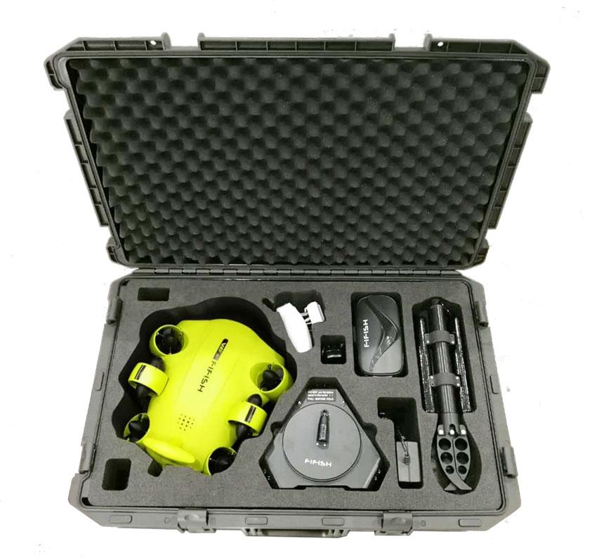Drone sous-marin Fifish V6S avec valise - Qysea