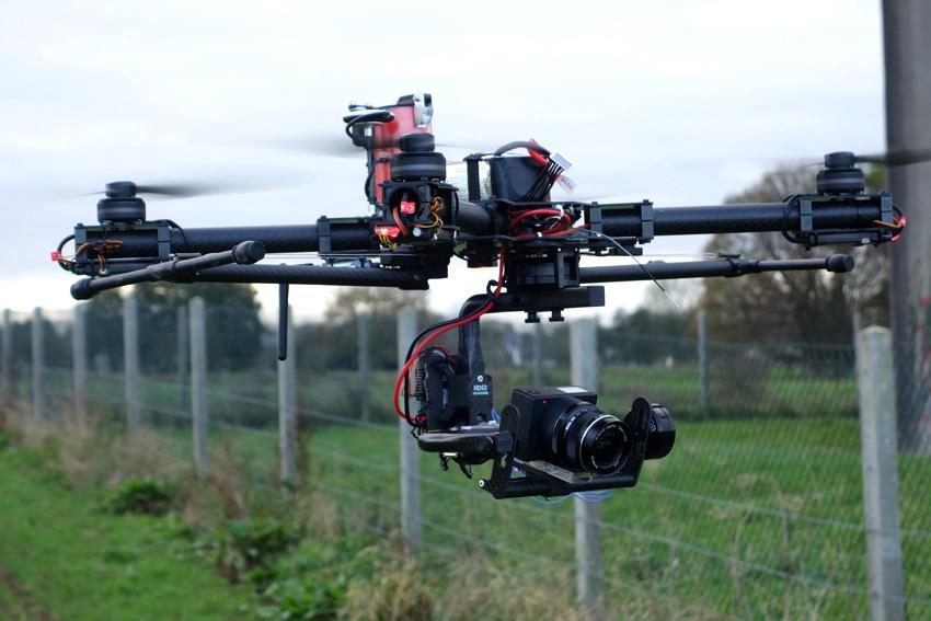 Drone studiosport et Z Camera E1