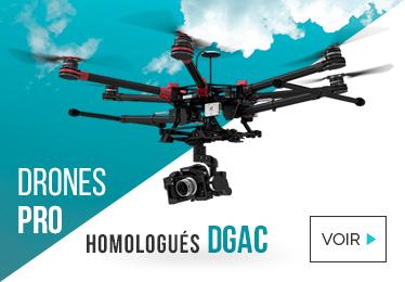 Drones pro homologués DGAC