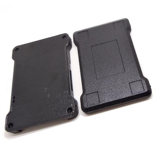 Boîtier pour autopilote Dropix - les deux parties du boîtier imprimé en ABS 3D