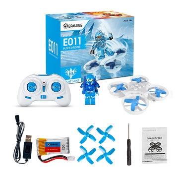 Eachine E011 RTF bleu - contenu de la boite
