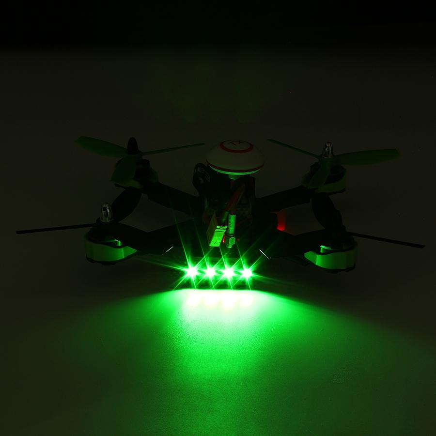 Eachine Falcon 210 Pro RTF et ses LED de signalisation