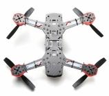Drone racer Eachine Falcon 250 (ARF) vu du dessous