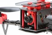 Drone racer Eachine Falcon 250 (RTF) avec caméra et support pivotable