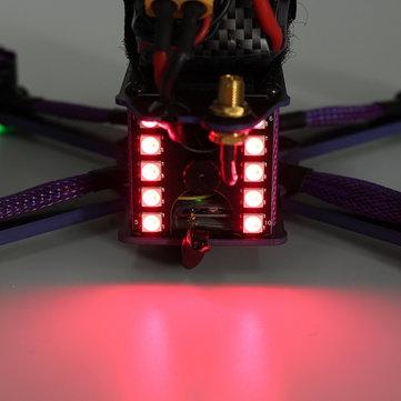 Eachine Wizard X220S RTF détail des LED arrières