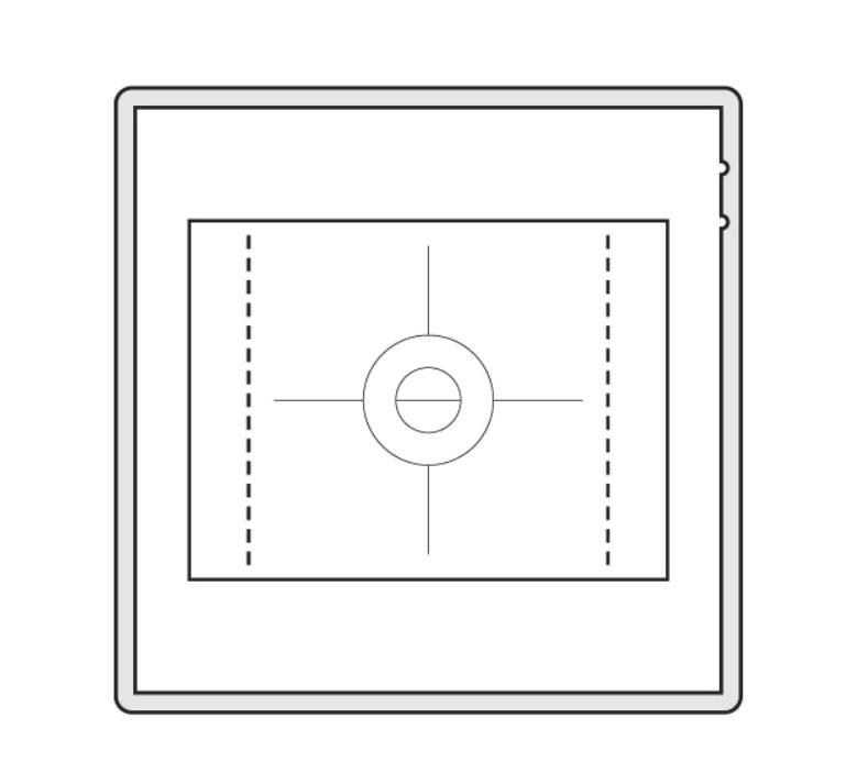 Écran de mise au point CFV-50C Hasselblad pour série V System