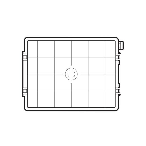 Écran de mise au point HS Grid Hasselblad pour série H System