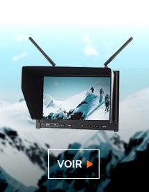 Découvrez toute notre gamme d'écrans moniteurs pour votre drone chez studioSPORT
