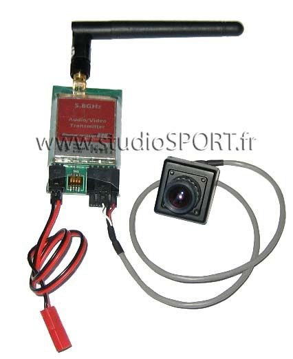 Emetteur AV 5,8 GHz 25mW ImmersionRC